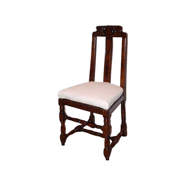 stuhl barock deutschland um 1700. Black Bedroom Furniture Sets. Home Design Ideas