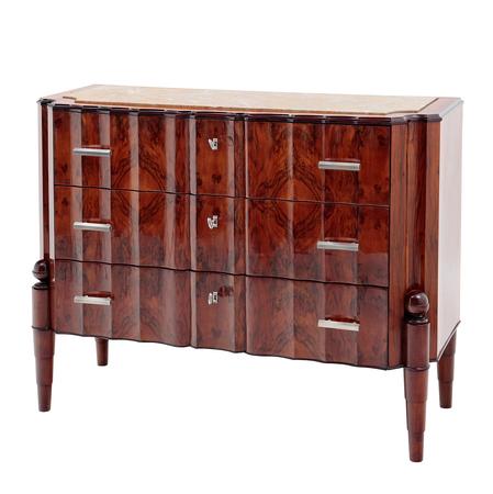 art deco kommode von biasini italien 1940er. Black Bedroom Furniture Sets. Home Design Ideas