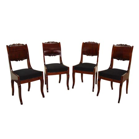 Biedermeier Stühle 19. Jhd.