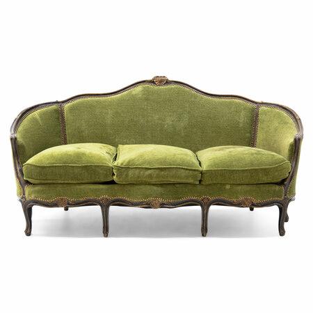Louis Quinze Sofa, 18. Jahrhundert