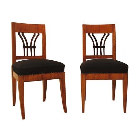 Stühle, Biedermeier, um 1820
