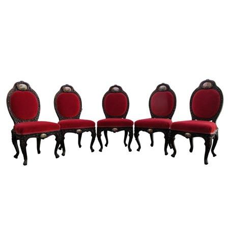 Stühle, Rokoko