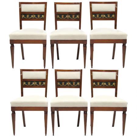 Stühle, Biedermeier, Italien, 1815-1825