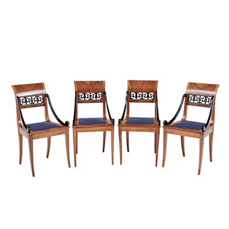 Stühle, Biedermeier, Frankreich/Italien, 1. Hälfte 19. Jhd