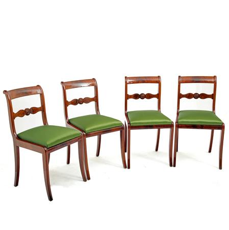 Esszimmerstühle, Mitteldeutsch um 1830