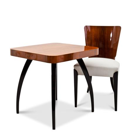 art deco st hle von jindrich halabala tschechien 1930er. Black Bedroom Furniture Sets. Home Design Ideas