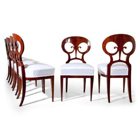 Biedermeier Stühle, Wien um 1820