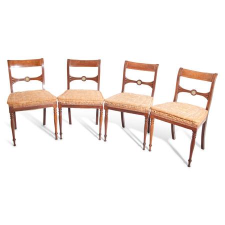 Stühle, wohl Berlin um 1825/30