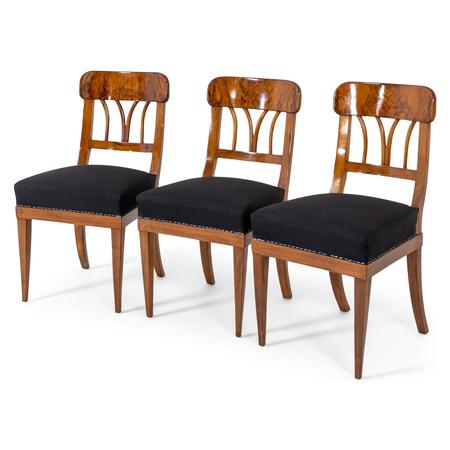 Biedermeier Stühle, um 1830
