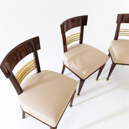 Esszimmer Stühle, Mitte 19. Jahrhundert