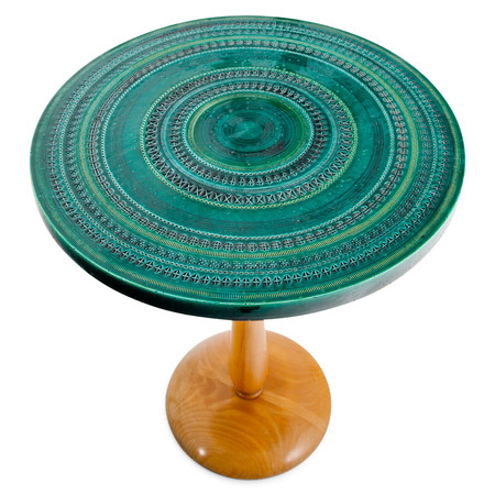 Keramik Tisch von Bitossi, Italien wohl 1960er Jahre