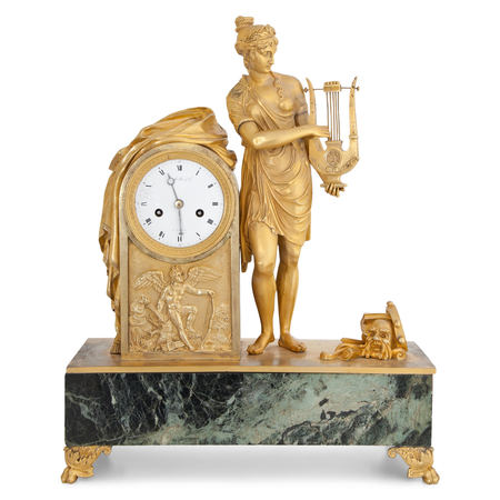 Pendule, Mallot & Cie Paris Ende 18. Jahrhundert