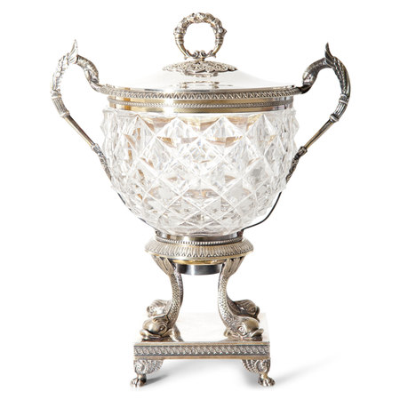 Silberne Bonbonniere, Frankreich 1. H. 19. Jahrhundert