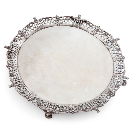 Salver, Richard Rugg, London 1762