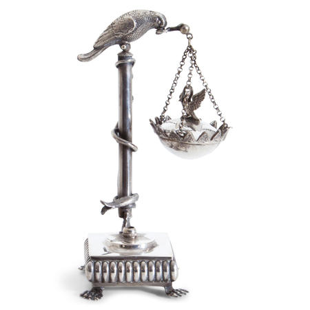 Parfumlampe, wohl Österreich, Anfang 19. Jahrhundert