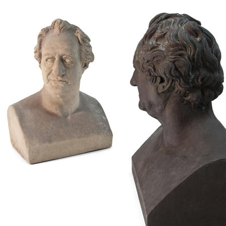 Büsten von Johann Wolfgang von Goethe