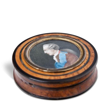 Runde Dose, Frankreich, 2. Hälfte 18. Jahrhundert