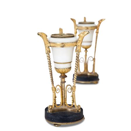 Leuchterpaar, wohl Russland um 1800