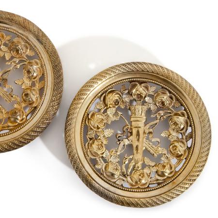 Bronzeappliken, Frankreich 1. H. 19. Jahrhundert