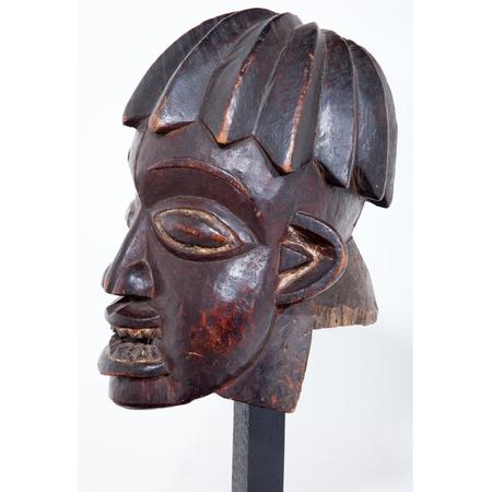 Kopf der Bamileke, Kamerun um 1900-1920