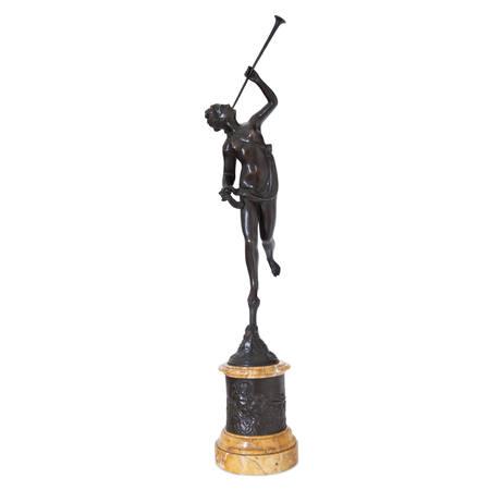Bronze der Fortuna nach Giambologna, Italien 19. Jahrhundert