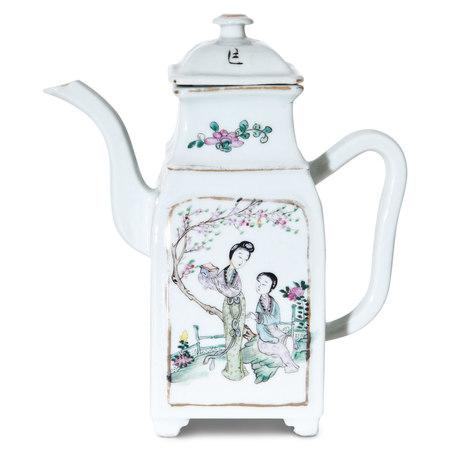 Tongzhi Teekanne, China 19. Jahrhundert