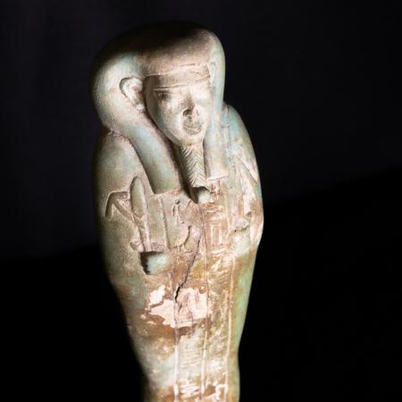 Uschebti des Königsschreibers Horchebi, Ägypten, Spätzeit, 25./26. Dynastie