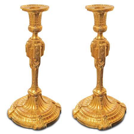 Klassizistisches Leuchterpaar um 1800