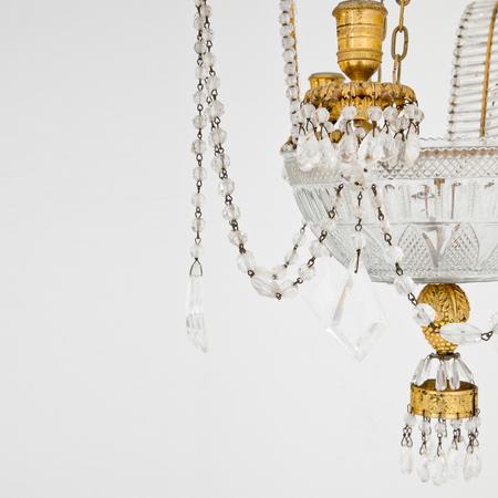 Empire Kristalllüster, wohl Wien um 1800