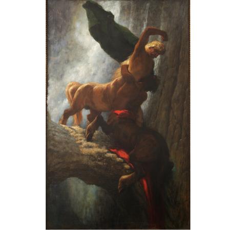 'Kampf der Kentauren' von Maximilian Wachsmuth, um 1900