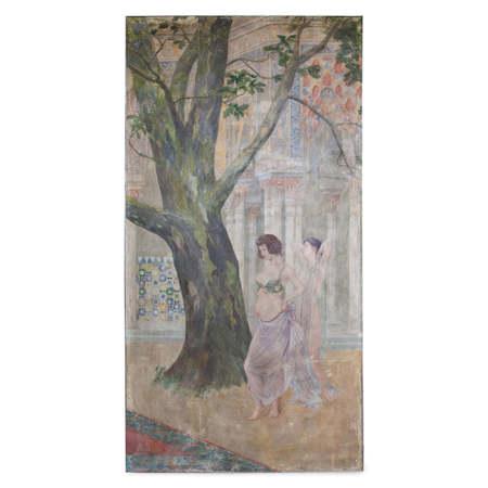 Fresko, Österreich Frühes 20. Jahrhundert