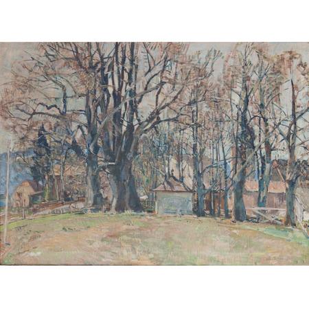 Otto Miller-Diflo (1878 – 1949) 'Vorfrühlingstag'