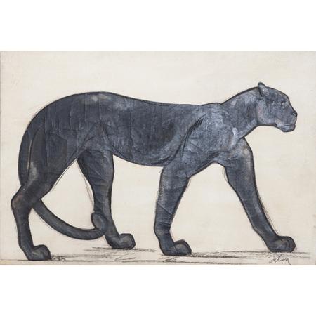 Panther von Marta Johan Milossis (*1957)