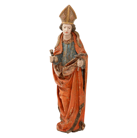 Skulptur des Hl. Eligius, 1480-1500