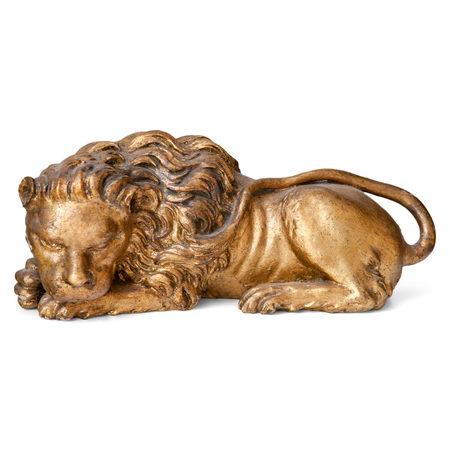 Liegender Löwe, Italien 19. Jahrhundert