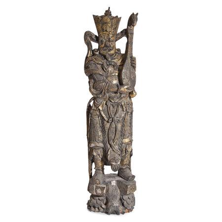 Asiatische Gottheit um 1900