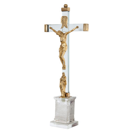Christus am Kreuz mit Maria, 18. Jahrhundert