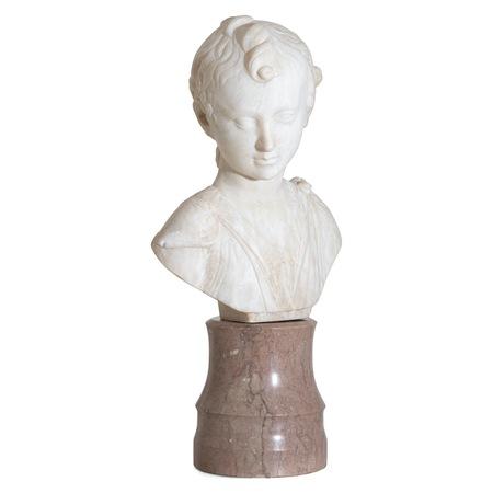 Kindliche Büste, 19. Jahrhundert