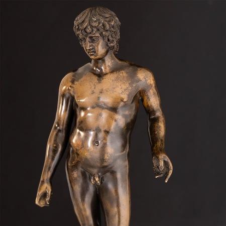 Bronze des Antinoos Farnese, um 1800