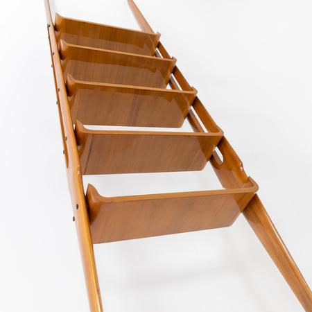 Raumteiler Regal, Italienische Manufaktur, 1960er Jahre