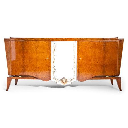 Art Deco Sideboard, wohl Frankreich 1940er Jahre
