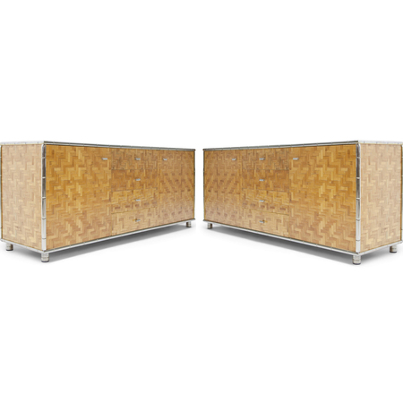 Bamboo Sideboards, Italien 1970er Jahre