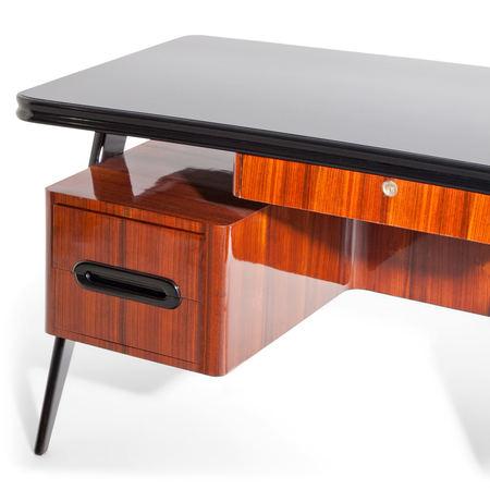 Schreibtisch, attr. Vittorio Dassi, Italien 1960er Jahre