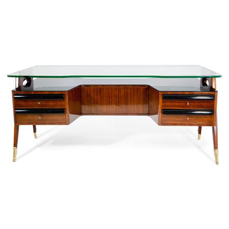 Schreibtisch von Dassi, Italien 1950er Jahre