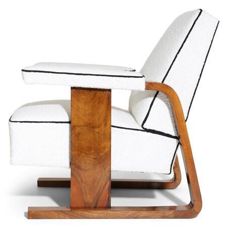 Art Deco Lounge Sessel, 1930er Jahre