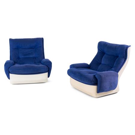 Orchidée Lounge Chair von Michel Cadestin, Mitte 20. Jahrhundert