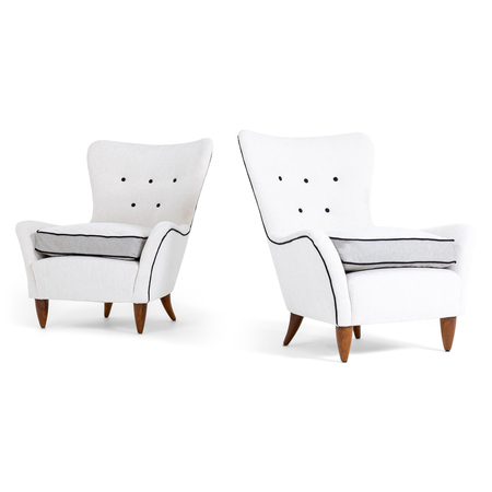 Lounge Sessel, Brambilla, Italien 1950er Jahre