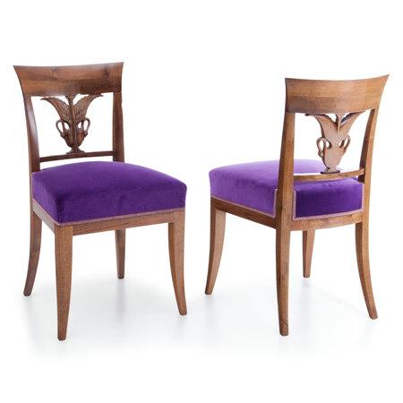 Biedermeier Stühle, Anfang 19. Jahrhundert