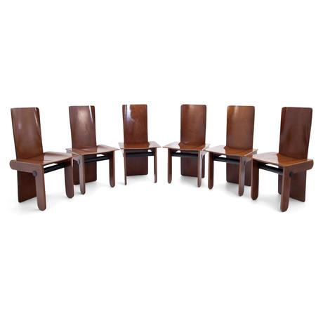 Tobia Scarpa Stühle für Gavina, Italien 1970er Jahre