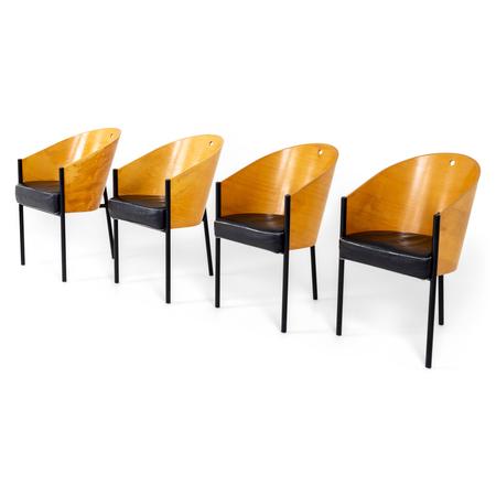 Philippe Starck, Driade Costes Stühle, Italien 1980er/90er Jahre